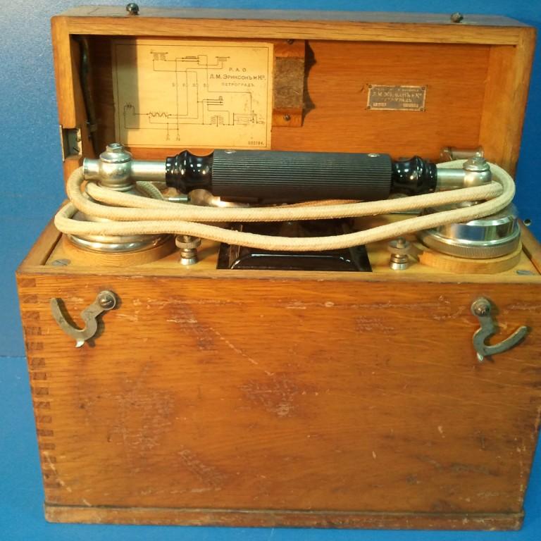 Военно-полевой телефон Л.М. Эриксон и Ко