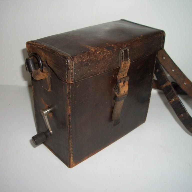Военно-полевой телефонный аппарат Эрикссон. 1897г.