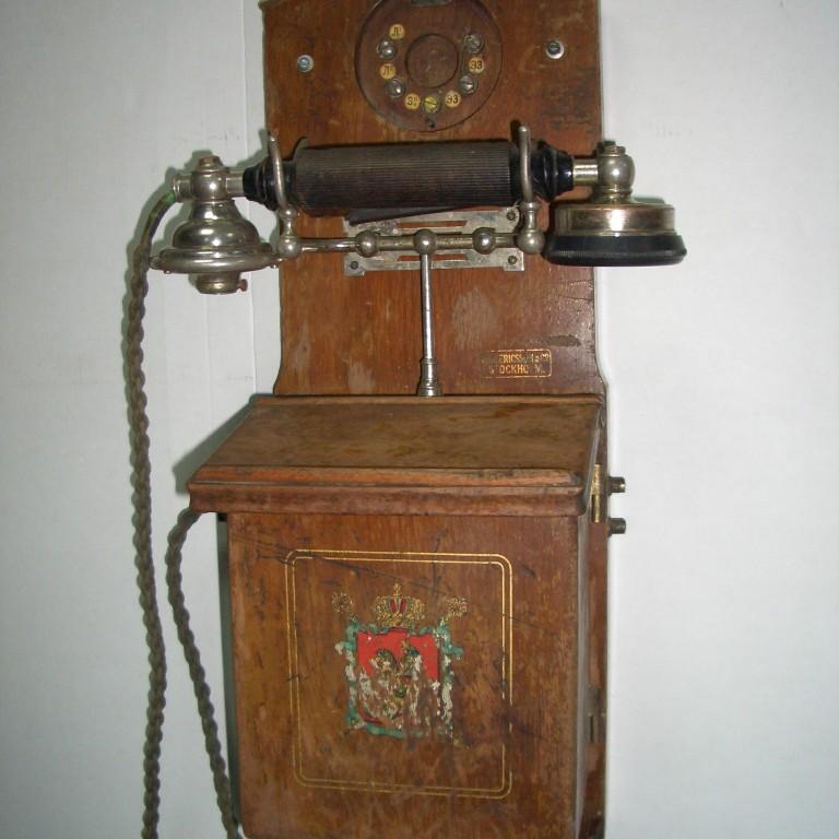Телефон L.M. Ericsson. 1905г.