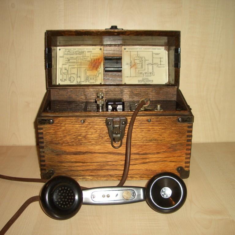 Полевой телефон 2005-W. 1943г. США