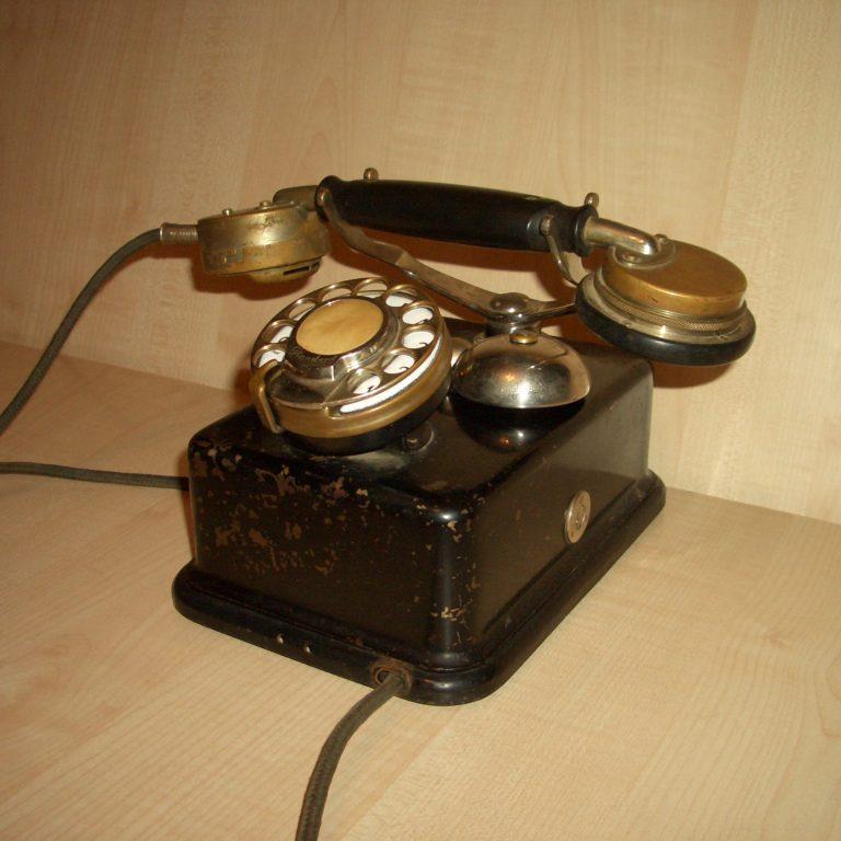 Телефон Эрикссон Будапешт. 1927г.