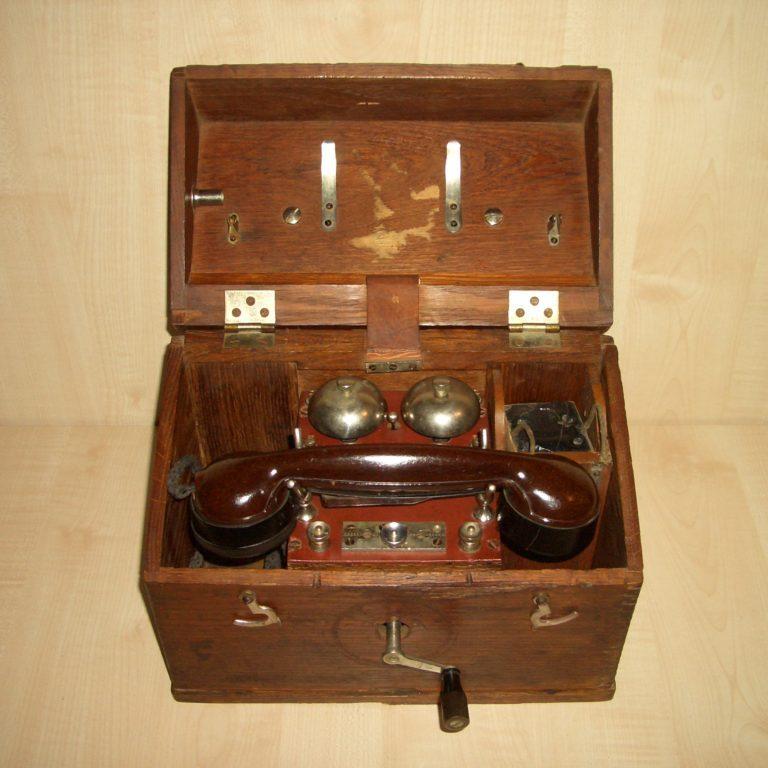Военно-полевой телефон завода»Красная Заря». 1928г.