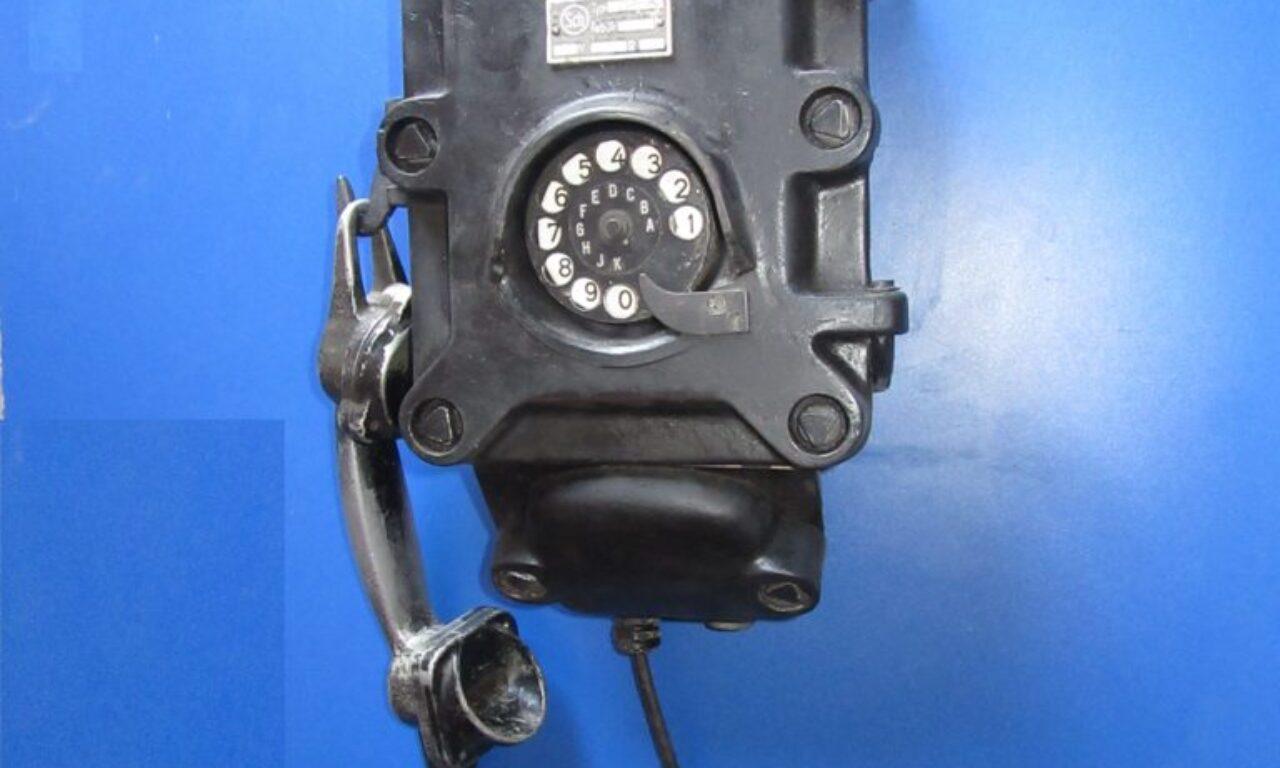 Телефон Германии. Бункерный. 1941г.